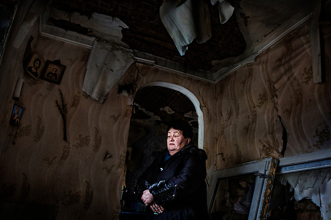 Maryinka, eastern Ukraine, Nov. 2017.<br />