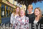Lorna Cronin, Maureen Moore, Breda Cronin and Michelle Breen, Rathmore, enjoying the sunshine in Castleisland..