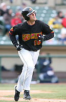 2007:  Glenn Williams of the Rochester Red Wings in a game at Frontier Field during an International League baseball game. Photo By Mike Janes/Four Seam Images