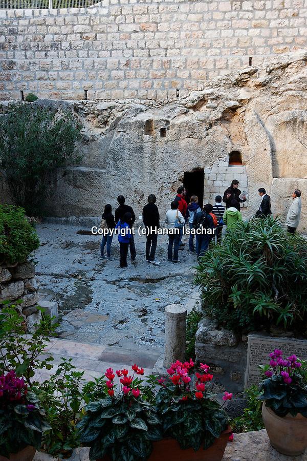 The Garden Tomb in East Jerusalem