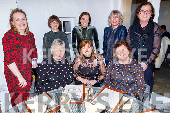 Enjoying the evening in Bella Bia on Friday.<br /> Seated l to r: Siobhan O'Nuillain, Caroline O'Carroll and Ann Mooney.<br /> Back l to r: Margaret O'Brien, Trish Fox, Jane Deasy, Amanda Brolly and Rose Daly.