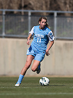 Kelly McFarlane. The Washington Spirit defeated the North Carolina Tar Heels in a preseason exhibition, 2-0, at the Maryland SoccerPlex in Boyds, MD.