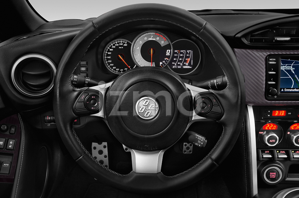 Car pictures of steering wheel view of a 2017 Toyota GT86 Sport 2 Door Coupe