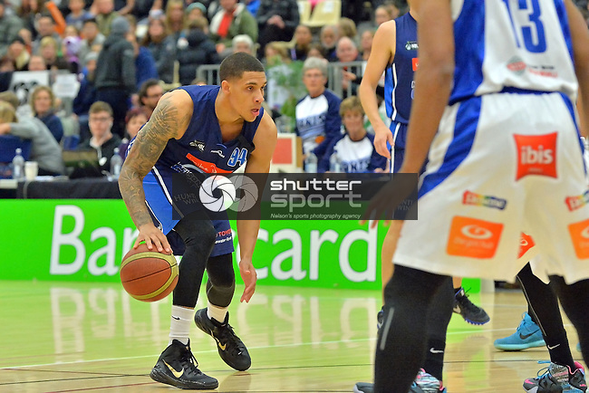NELSON, NEW ZEALAND - 23 MAY: Mike Pero Nelson Giants vs Wellington Saints, 23 May 2015, Saxton Stadium, Nelson, New Zealand. (Photo by: Barry Whitnall Shuttersport Limited)