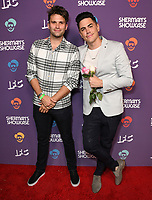 "30 July 2019 - West Hollywood, California - Tom Schwartz, Tom Sandoval. IFC's ""Sherman's Showcase"" Premiere Party held at The Peppermint Club. Photo Credit: Birdie Thompson/AdMedia"