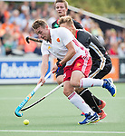 AMSTELVEEN - Chris Griffiths (Eng)  during the poulematch England v Germany (men) 3-4,Rabo Eurohockey Championships 2017.  WSP COPYRIGHT KOEN SUYK