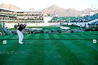 Brian Gay (USA) on the 16th tee during the 2nd round of the Waste Management Phoenix Open, TPC Scottsdale, Scottsdale, Arisona, USA. 01/02/2019.<br /> Picture Fran Caffrey / Golffile.ie<br /> <br /> All photo usage must carry mandatory copyright credit (© Golffile | Fran Caffrey)