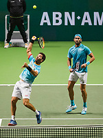 Rotterdam, The Netherlands, 17 Februari 2019, ABNAMRO World Tennis Tournament, Ahoy, final, doubles, Jean-Julien Rojer (NED) / Horia Tecau (ROU),<br /> Photo: www.tennisimages.com/Henk Koster