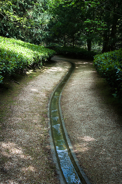 The rill, Rousham House and Garden.