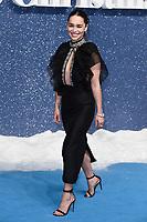 "LONDON, UK. November 11, 2019: Emelia Clarke arriving for the ""Last Christmas"" premiere at the BFI Southbank, London.<br /> Picture: Steve Vas/Featureflash"