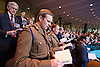 Greater London Assembly Annual Service of Remembrance<br /> at City Hall, The Queen's Walk, London , Great Britain <br /> 11th November 2016 <br /> Members of the armed forces sing hymns <br /> <br /> Sadiq Khan&nbsp;<br /> The Mayor of London<br /> <br /> Tony Arbou<br /> Chairman of the London Assembly<br /> <br /> &nbsp;<br /> Those in attendance were:<br /> <br /> Wing Commander Mike Dudgeon OBE,<br /> <br /> Major General Ben Bathurst CBE, <br /> <br /> Sir Ken Knight CBE QFSM FIFireE, <br /> <br />  Air Marshall David Walker,<br /> <br /> <br /> Led by the Sub-Dean of Southwark Cathedral, The Revd Canon Michael Rawson, <br /> <br />  Bishop of London, the Rt Revd and Rt Hon Dr Richard Chartres,<br /> <br /> Transport for London Commissioner Mike Brown, <br /> <br /> Metropolitan Police Deputy Commissioner Craig Mackey <br /> <br />  London Fire Brigade Commissioner Ron Dobson <br /> &nbsp;<br /> Lord Singh CBE,<br /> <br /> Rabbi Miriam Berger, Finchley Reform Synagogue, <br /> <br /> Harun Khan, Muslim Council of Britain <br /> <br /> Dr Deesha Chadha, Hindu Forum of Britain <br /> <br /> Photograph by Elliott Franks <br /> Image licensed to Elliott Franks Photography Services