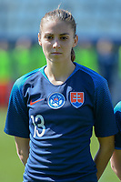 20190301 - LARNACA , CYPRUS : Slovakian midfielder Kristina Kosikova pictured during a women's soccer game between Slovakia and Nigeria , on Friday 1 March 2019 at the Antonis Papadopoulos Stadium in Larnaca , Cyprus . This is the second game in group C for both teams during the Cyprus Womens Cup 2019 , a prestigious women soccer tournament as a preparation on the Uefa Women's Euro 2021 qualification duels and FIFA Women's World Cup 2019 in France . PHOTO SPORTPIX.BE | STIJN AUDOOREN