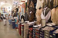 Tripoli, Libya. Medina, Men's Clothing Suq.