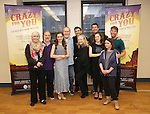 Nancy Opel, Mark Linn-Baker, Laurra Osnes, Harry Groener, Tony Yazbeck, Susan Stroman, Jerry O'Connell, Rachel Bloom, Rachel Dratch and Jack McBrayer during the Press Rehearsal for the Manhattan Concert Production of 'Crazy For You'  at Pearl Studios on 2/16/2017 in New York City.