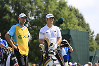 Jon Rahm (ESP) on the 1st tee during Friday's Round 2 of the 2017 PGA Championship held at Quail Hollow Golf Club, Charlotte, North Carolina, USA. 11th August 2017.<br /> Picture: Eoin Clarke | Golffile<br /> <br /> <br /> All photos usage must carry mandatory copyright credit (&copy; Golffile | Eoin Clarke)