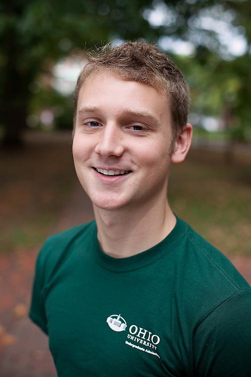 Campus tour guides.Charlie Wirtz