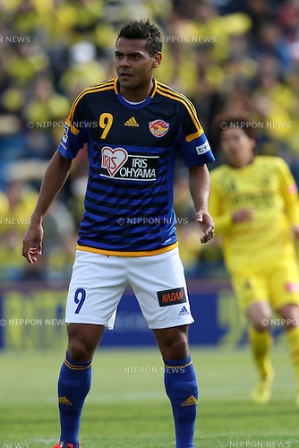 Wilson (Vegalta),<br /> MARCH 27, 2016 - Football / Soccer : 2016 J.League Yamazaki Nabisco Cup Group B match between Kashiwa Reysol 0-1 Vegalta Sendai at Hitachi Kashiwa Stadium in Chiba, Japan. (Photo by Jun Tsukida/AFLO SPORT)