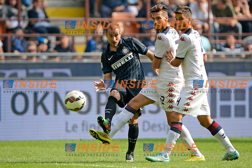 Rodrigo Palacio Inter<br /> Milano 28-09-2014 Stadio Giuseppe Meazza - Football Calcio Serie A Inter - Cagliari. Foto Giuseppe Celeste / Insidefoto