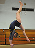 Jenna Plant of Massapequa performs on the balance beam during a Nassau County varsity gymnastics meet against South Side at McKenna Elementary School in Massapequa Park on Monday, Jan. 29, 2018.