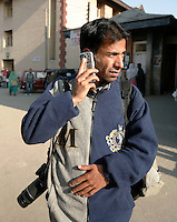 Zuma photographer Altaf Zargar. Srinagar, Kashmir, India. © Fredrik Naumann/Felix Features