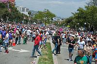 Crowd at Los Angeles Pride Parade, LA Pride 2010 West Hollywood, CA Parade