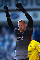 Wycombe Wanderers' Ryan Allsop in action <br /> <br /> Photographer Richard Martin-Roberts/CameraSport<br /> <br /> The EFL Sky Bet Championship - Blackburn Rovers v Wycombe Wanderers - Saturday 19 September 2020 - Ewood Park - Blackburn<br /> <br /> World Copyright © 2020 CameraSport. All rights reserved. 43 Linden Ave. Countesthorpe. Leicester. England. LE8 5PG - Tel: +44 (0) 116 277 4147 - admin@camerasport.com - www.camerasport.com