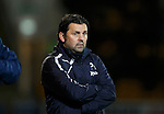 St Johnstone v Dundee....27.11.15  SPFL  McDiarmid Park, Perth<br /> Paul Hartley looks on<br /> Picture by Graeme Hart.<br /> Copyright Perthshire Picture Agency<br /> Tel: 01738 623350  Mobile: 07990 594431
