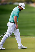 Brandon Grace (RSA) on the 9th during the 3rd round of the Waste Management Phoenix Open, TPC Scottsdale, Scottsdale, Arisona, USA. 02/02/2019.<br /> Picture Fran Caffrey / Golffile.ie<br /> <br /> All photo usage must carry mandatory copyright credit (&copy; Golffile | Fran Caffrey)