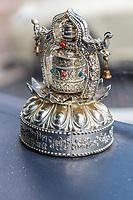 Wenzhou, Zhejiang, China.  Ornament Representing Buddhist samsara, the endless cycle of birth and death.