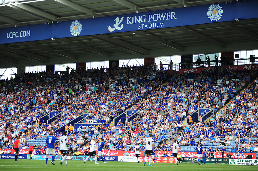 General view of Leicester City's King Power Stadium..Football - npower Football League Championship - Leicester City v Peterborough United - Saturday 18th August 2012 - King Power Stadium - Leicester..