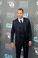 LOS ANGELES - JAN 11:  Alexander Skarsgard  at the 23rd Annual Critics' Choice Awards at Barker Hanger on January 11, 2018 in Santa Monica, CA