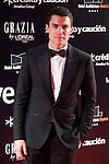 Actor Alex Gonzalez attends Goya Cinema Awards 2014 red carpet at Centro de Congresos Principe Felipe on February 9, 2014 in Madrid, Spain. (ALTERPHOTOS/Victor Blanco)