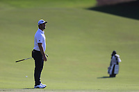 Jon Rahm (ESP) on the 15th fairway during the 1st round of the DP World Tour Championship, Jumeirah Golf Estates, Dubai, United Arab Emirates. 15/11/2018<br /> Picture: Golffile | Fran Caffrey<br /> <br /> <br /> All photo usage must carry mandatory copyright credit (&copy; Golffile | Fran Caffrey)