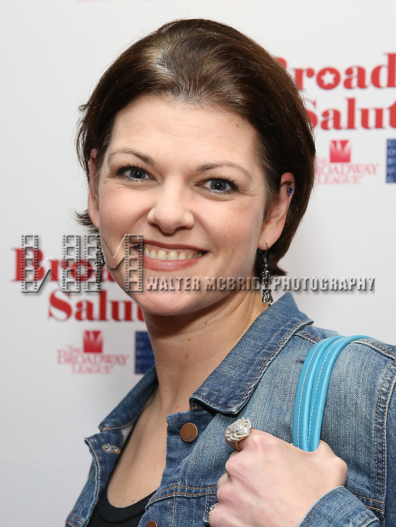 Kate Shindle attends Broadway Salutes 10 Years - 2009-2018 at Sardi's on November 13, 2018 in New York City.