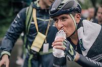 Nairo Quintana (COL/Movistar) finishing<br /> <br /> 104th Tour de France 2017<br /> Stage 1 (ITT) - Düsseldorf › Düsseldorf (14km)