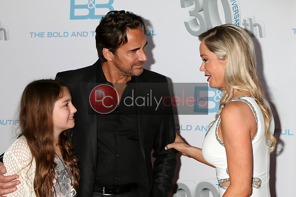 "Marlowe Marann Kaye, Thorsten Kaye, Jennifer Gareis<br /> at the ""The Bold and The Beautiful"" 30th Anniversary Party, Clifton's Downtown, Los Angeles, CA 03-18-17<br /> David Edwards/DailyCeleb.com 818-249-4998"
