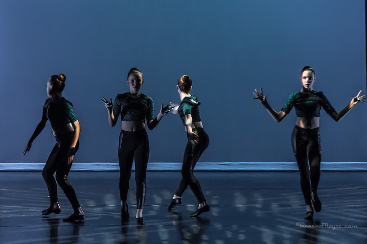 """United We Dance"", the combined production of 3D Project Jazz and Cary Ballet companies Spring Concert. Friday, 6:30 PM, Cary Arts Center, 13 March 2014"