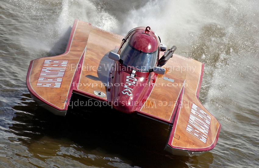 "George Kennedy,Jr., T-80 ""Outlaw"", (1 Litre Stock hydroplane)"