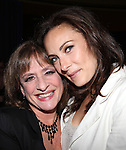 Patti Lupone & Laura Benanti.attending the Signature Theatre Stephen Sondheim Award Gala reception honoring Patti Lupone at the Embassy of Italy in Washington D.C. on 4/16/2012.