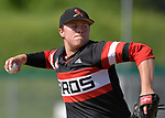 Alton itches Adam Stilts winds up against Belleville East in a Class 4A regional semifinal at Alton High School in Alton, IL on Thursday May 23, 2019.<br /> Tim Vizer/Special to STLhighschoolsports.com