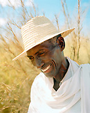 MADAGASCAR, mature man smiling, close-up, Betioky