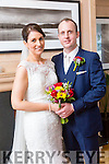 Marg Horgan and Patrick Kissane were married at Our Lady of Lourdes Scartaglin by Fr. Sean Horgan on Saturday 24th September 2016 with a reception at Ballygarry Hotel