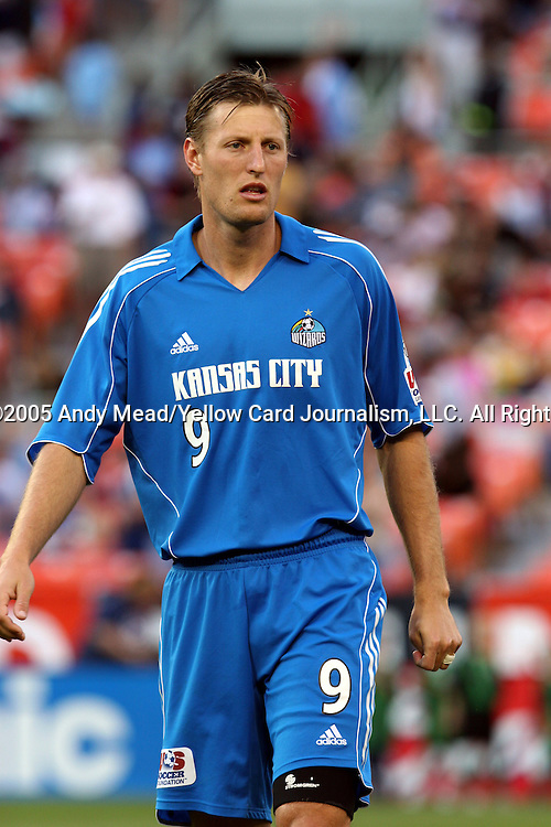 21 May 2005: Sasha Victorine. DC United defeated the Kansas City Wizards 3-2 at RFK Stadium in Washington, DC in a regular season Major League Soccer game. . .