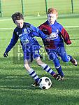 EMU Joel O'Brien Boyne Rovers Dylan Henry. Photo:Colin Bell/pressphotos.ie