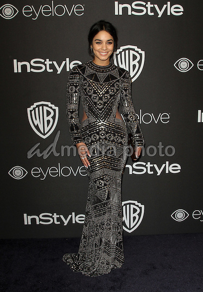 8 January 2017 - Los Angeles, California - Vanessa Hudgens. InStyle & Warner Bros. Pictures Golden Globes After Party 2017 held at the Beverly Hilton Hotel. Photo Credit: AdMedia