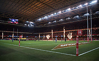 A general view of Principality Stadium, home of Wales<br /> <br /> Photographer Simon King/CameraSport<br /> <br /> International Rugby Union - 2017 Under Armour Series Autumn Internationals - Wales v Australia - Saturday 11th November 2017 - Principality Stadium - Cardiff<br /> <br /> World Copyright &copy; 2017 CameraSport. All rights reserved. 43 Linden Ave. Countesthorpe. Leicester. England. LE8 5PG - Tel: +44 (0) 116 277 4147 - admin@camerasport.com - www.camerasport.com