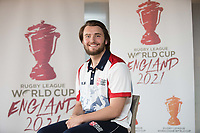 Picture by Charlie Forgham-Bailey/SWpix.com 13/07/2017 - International Rugby League - Rugby League World Cup 2021 - RLWC2017 Presentation at ALTITUDE LONDON, SKYLOFT Millbank Tower, London - Joe Coyd