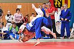 Theresa Fiedel (weiss) - Yara Slamberger (blau) beim Judo im Wolfgang-Welz-Turnier in der Lilli-Gräber-Halle, Friedrchsfeld Mannheim.<br /> <br /> Foto © PIX-Sportfotos *** Foto ist honorarpflichtig! *** Auf Anfrage in hoeherer Qualitaet/Aufloesung. Belegexemplar erbeten. Veroeffentlichung ausschliesslich fuer journalistisch-publizistische Zwecke. For editorial use only.
