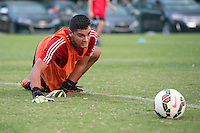 Orlando, FL - Friday Oct. 14, 2016:   A player during a US Soccer Coaching Clinic in Orlando, Florida.