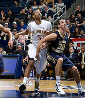 Richard Solomon of California in action during the game against George Washington at Haas Pavilion in Berkeley, California on November 13th, 2011.  California defeated George Washington, 81-54.